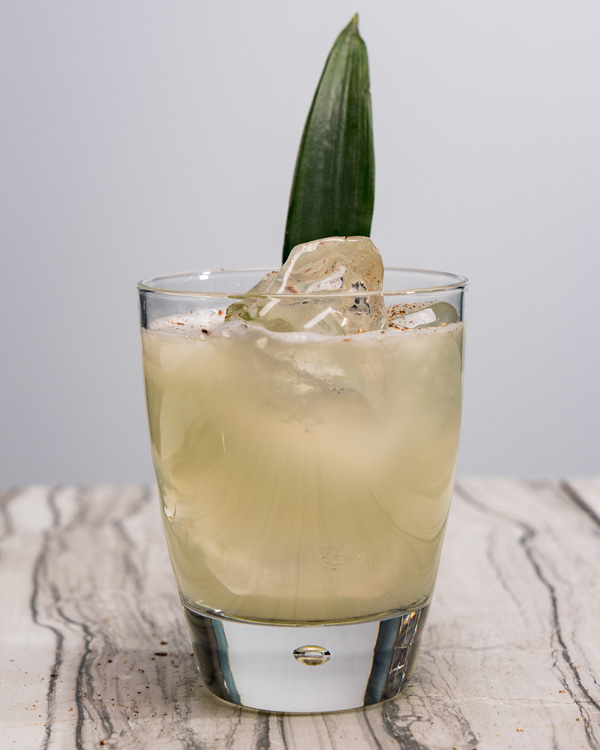 коктейль Мускатно-ананасовая маргарита Pineapple and Nutmeg Margarita