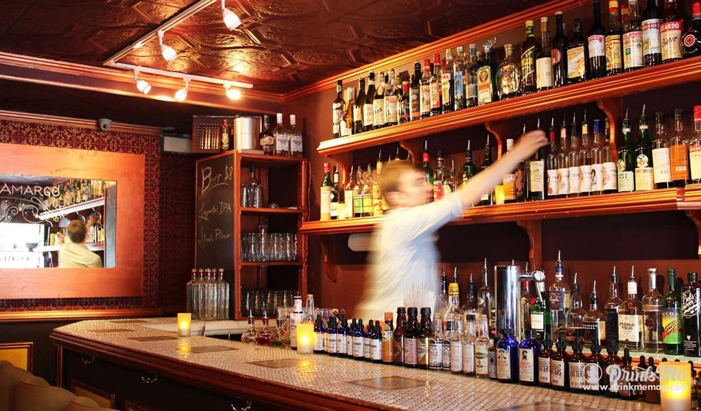 скорость работы за баром