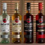 Хорошие и удобные бутылки рома Бакарди. эргономика удобство для бармена ром Бакарди