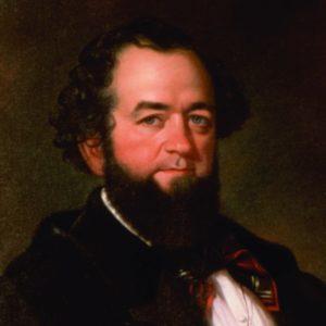 портрет основателя соусов табаско острый Эдмунд МакалИленни Edmund McIlhenny