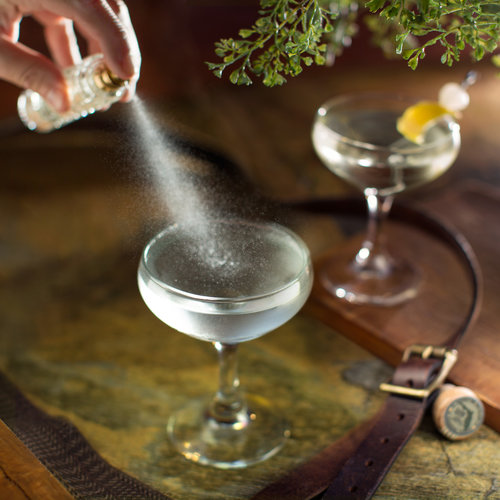 Атомайзер использование в баре, коктейльные гарниры и гарниша коктейль бокал рюмка спрей пшик