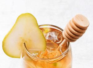 виски и груша коктейль с мёдом рецепт напитка