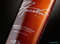 бутылка коньяка бренди ARARAT Charles Aznavour Signature Blend