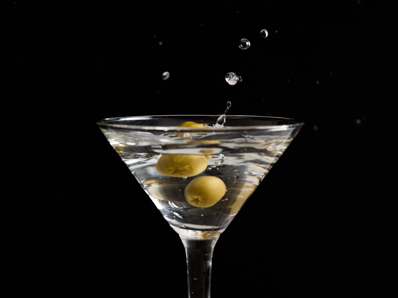 Martini с оливками