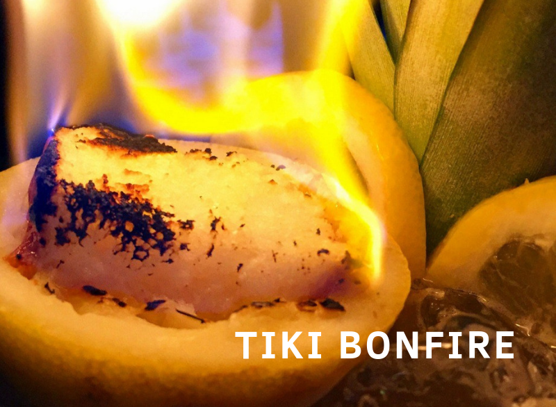 Tiki Bonfire