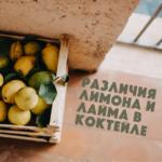 Различия лимона и лайма в коктейле