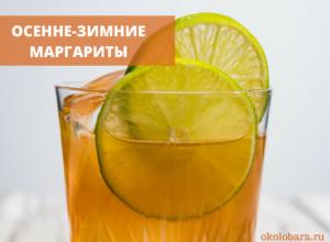 Осенние и зимние коктейль маргарита 5 рецептов 5 стаканов напитков
