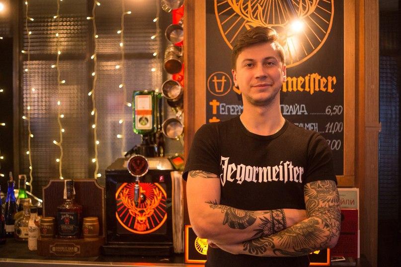 Егор Падута бармен Егор Падута, барменеджер/брендшеф Korova grill+bar, караоке-бар Solo, кафе Mario, г. Брест