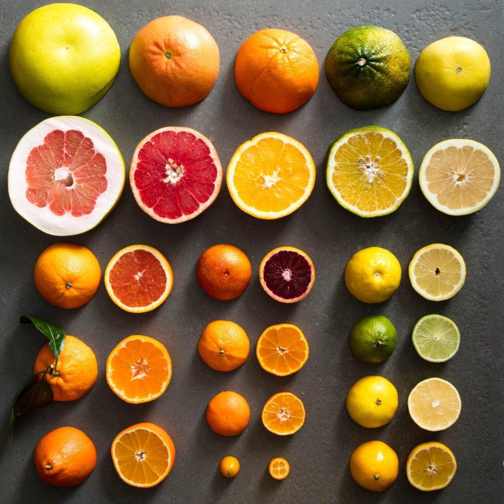 Обширный гид по цитрусовым апельсин, лимон, лайм, грейпфрут, кумкват, мандарин, памело