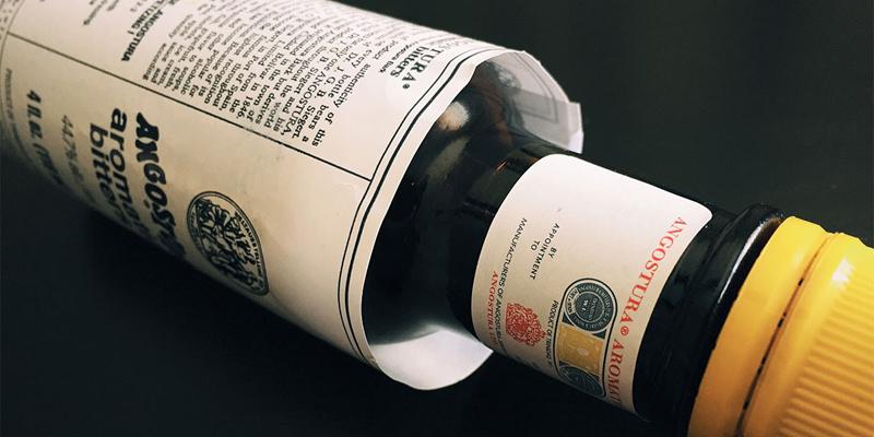бутылка биттер Ангостура Angostura bitter этикетка большая горечь в напитке