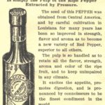 острый соус тобаско чили перечный старая бутылка этикетка аутентичная упаковка