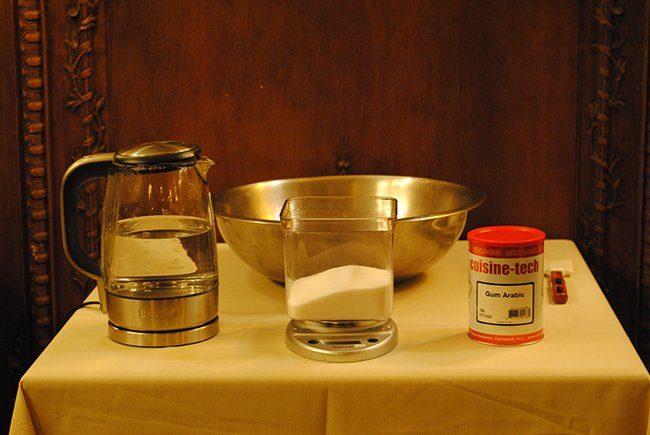 Изображение с переливанием гумми сиропа