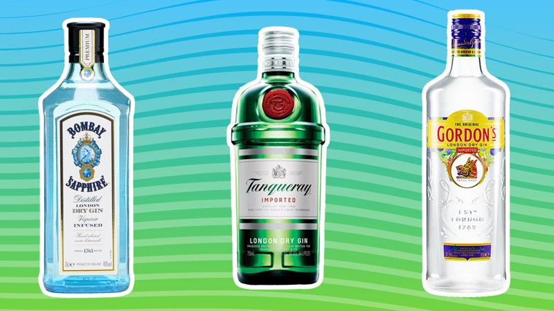 три джина танкерэй бомбей сапфир и лариос сравнение описание джинов лучшие джины мира алкоголь бутылки коллаж