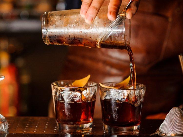 Приготовление коктейлей