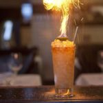 Коктейль с огнем