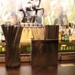 Трубочки в баре