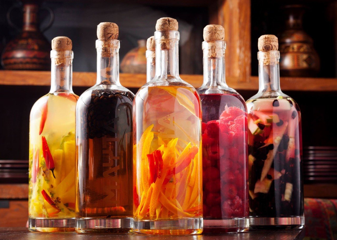Бутылки с инфьюзами