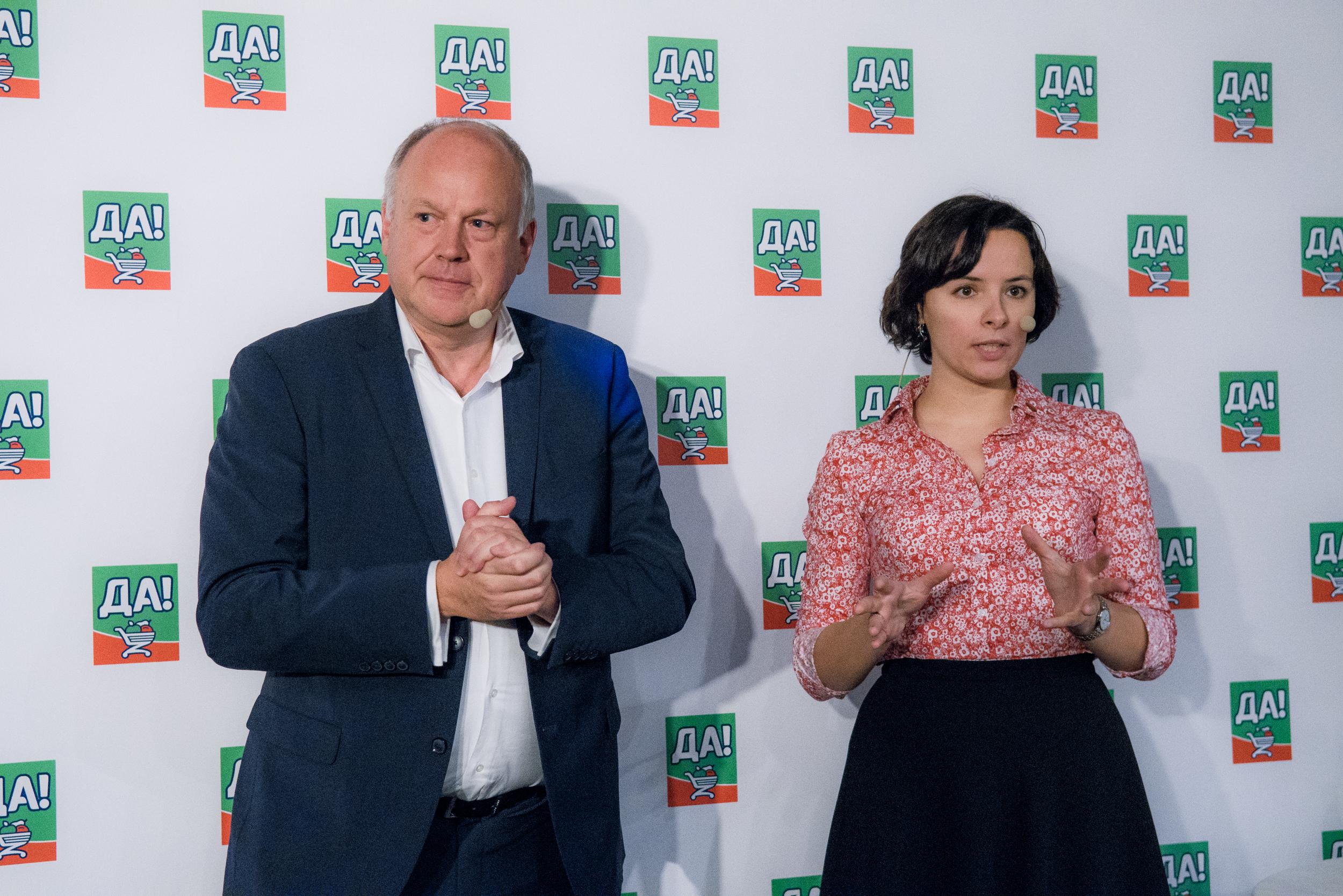 Франк Смулдерс и Татьяна Селиванова